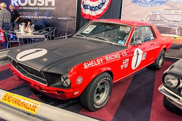Ford Mustang S1 hardtop coupe Daytona Trans-Am replica 1968 fl3q