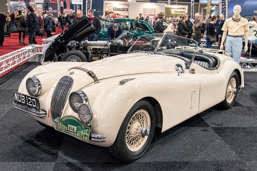 Jaguar XK 120 OTS Alpine Rally 1950 fl3q