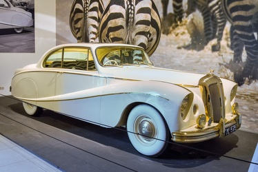 Daimler DK400A Golden Zebra coupe by Hooper 1955 fr3q