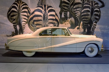 Daimler DK400A Golden Zebra coupe by Hooper 1955 side