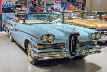 Edsel Pacer convertible coupe 1958 blue fr3q