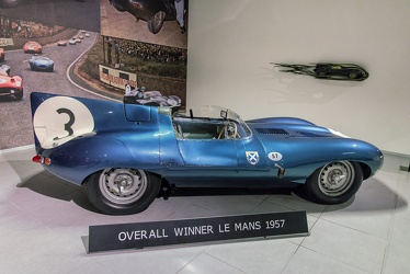 Jaguar D-Type OTS Le Mans 1956 side