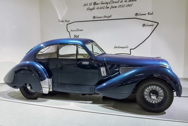 Lagonda V12 Le Mans coupe by Lancefield 1939 side