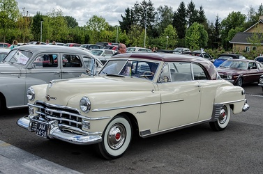 Chrysler Windsor Newport hardtop coupe 1950 fl3q