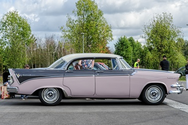 Dodge Custom Royal Lancer hardtop sedan 1956 side