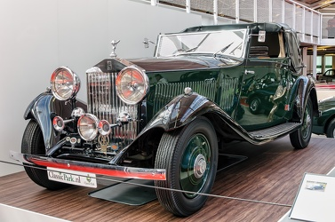 Rolls Royce 20/25 HP sedanca de ville by Gurney Nutting 1934 fl3q