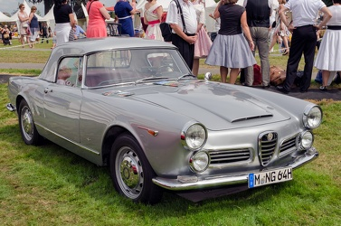Alfa Romeo 2600 Spider by Touring 1964 fr3q