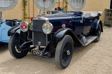 Alvis Silver Eagle tourer by Cross & Ellis 1932 fl3q