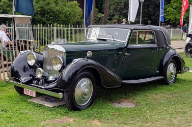 Bentley 4.25 Litre sedanca coupe by Van Vooren 1939 fl3q