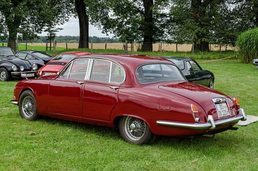 Jaguar 3.4 S 1965 red r3q