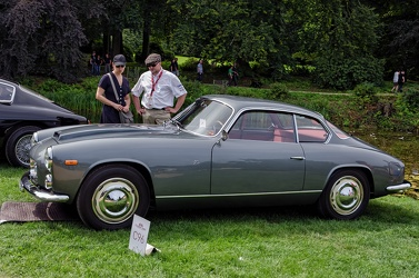 Lancia Flaminia Sport S2 3C 2.5 by Zagato 1962 grey side