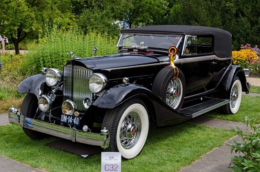 Packard 1004 Super Eight victoria convertible 1933 fl3q