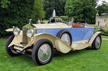 Rolls Royce Phantom II 1929 boattail tourer rebody by Vert 1967 fl3q