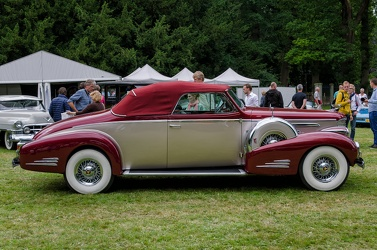 Cadillac 90 V16 convertible coupe 1939 side