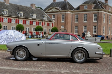 Fiat 8V berlinetta by Vignale 1953 silver side