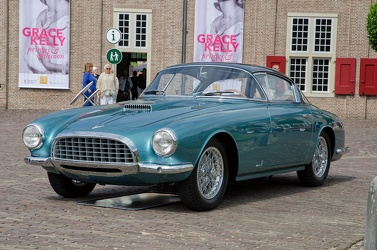 Fiat 8V MM berlinetta by Vignale 1953 green fl3q