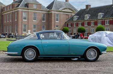 Fiat 8V MM berlinetta by Vignale 1953 green side