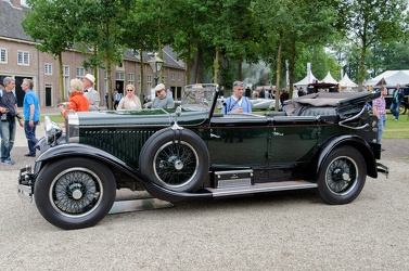 Hispano Suiza H6B cabriolet de ville by Hibbard & Darrin 1929 side
