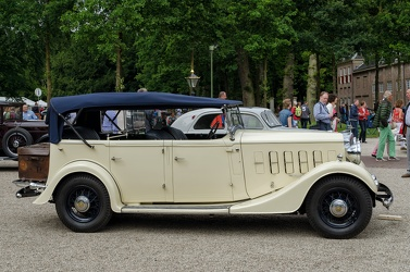 Humber Snipe 80 tourer 1934 side