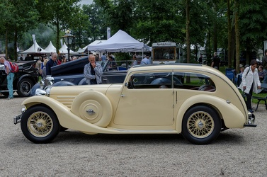 Jaguar SS 1 Airline saloon 1934 side