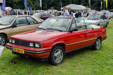 Renault Alliance DL convertible coupe 1985 fl3q