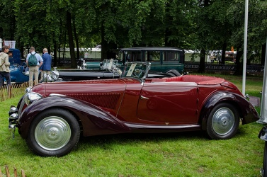 Talbot Lago T120 Baby cabriolet by Figoni 1935 side