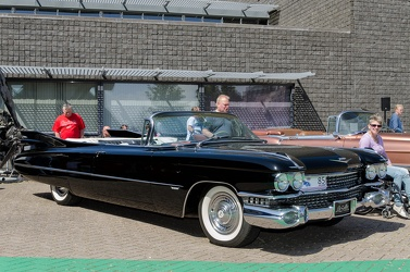 Cadillac 62 convertible coupe 1959 black fl3q