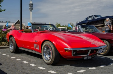 Chevrolet Corvette C3 Stingray convertible roadster 1969 fr3q
