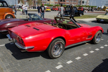 Chevrolet Corvette C3 Stingray convertible roadster 1969 r3q