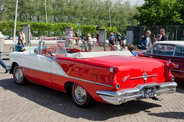Oldsmobile Super 88 convertible coupe 1956 r3q