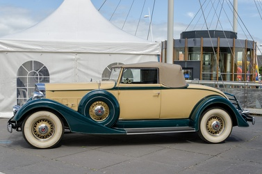 Packard 1101 Eight coupe roadster 1934 side