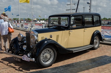 Rolls Royce 25/30 HP 6-light limousine by Hooper 1936 fl3q