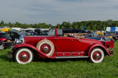 Cadillac Series 353 V8 convertible coupe 1930 side