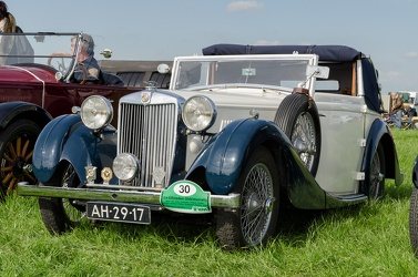 MG VA 1.5 Litre Tickford DHC by Salmons & Sons 1939 fl3q