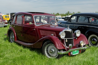 Riley 12/4 1.5 Litre Adelphi 1936 red fr3q