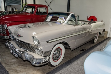 Chevrolet Bel Air convertible coupe 1956 beige fl3q