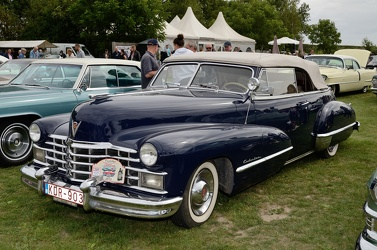 Cadillac 62 convertible coupe 1947 blue fl3q