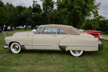 Cadillac 62 convertible coupe 1949 side