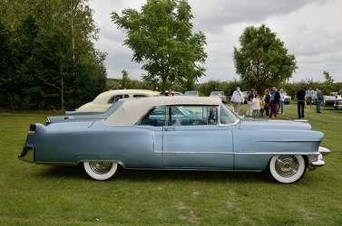 Cadillac 62 convertible coupe 1955 side