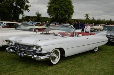 Cadillac 62 convertible coupe 1959 white fl3q