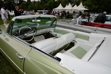 Cadillac 62 convertible coupe 1964 green interior