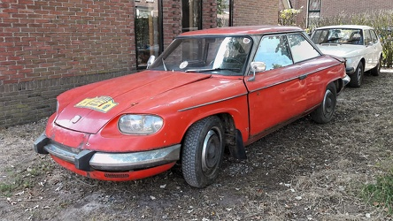Panhard 24 BT unrestored 1965 fl3q