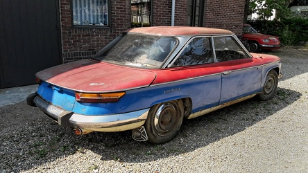 Panhard 24 BT unrestored 1965 r3q