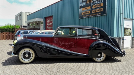 Rolls Royce Silver Wraith touring limousine by Mulliner 1953 side