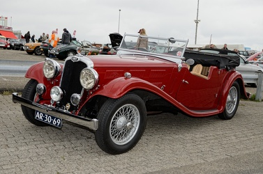Triumph Gloria Six tourer 1935 fl3q