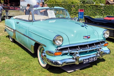 Chevrolet Bel Air convertible coupe 1954 fr3q