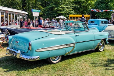 Chevrolet Bel Air convertible coupe 1954 r3q