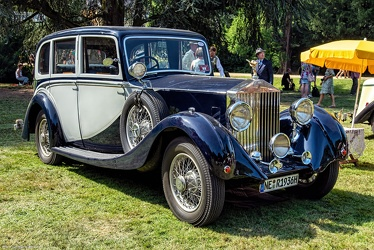 Rolls Royce 20/25 HP 1929 6-light saloon rebody by James Young 1936 fr3q