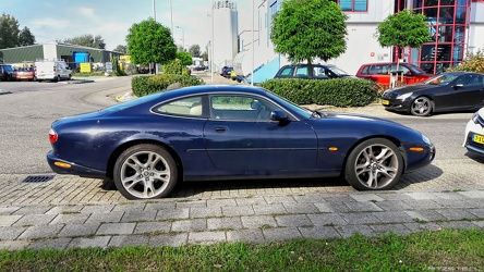 Jaguar XK8 X100 coupe modified 2001 side