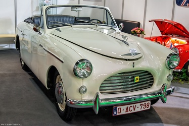 Austin A40 Sports by Jensen 1952 fr3q